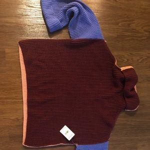 Free People Colorblock Park City Sweater